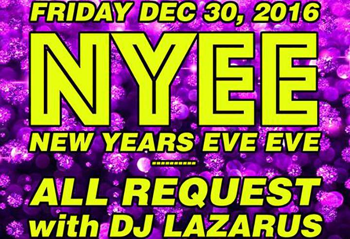 New Years Eve Eve 2016