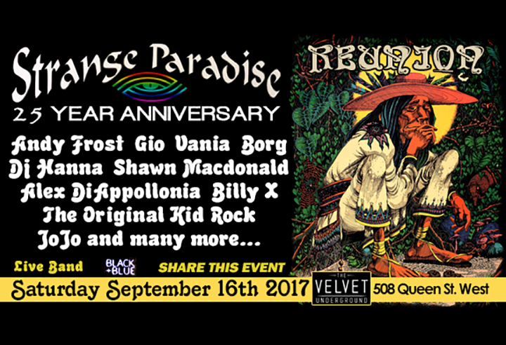 Strange Paradise 25th Anniversary Revival 2017